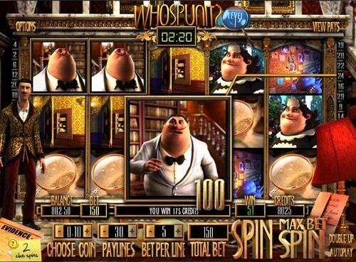 Whospunit? Slot Reels