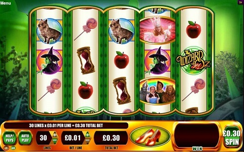 wizard-of-oz-ruby-slippers-slot-reels