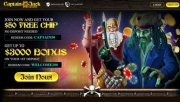 Best Captain Jack Casino Review