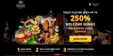 Grand Casino Welcome Bonus