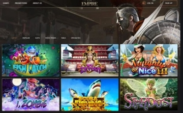 Slots Empire Casino Review USA
