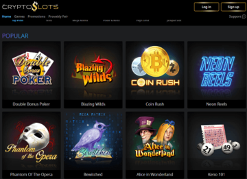 cryptoslots-casino-games