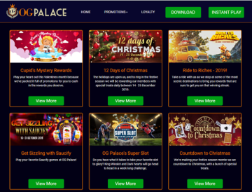 og palace casino promotions