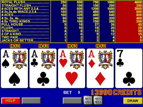 Online Video Poker USA