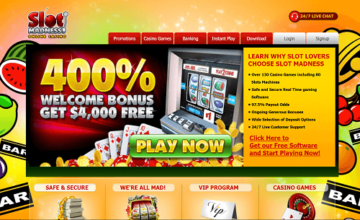 slot madness homepage