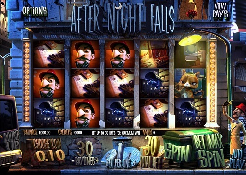 After Night Falls Slot Reels