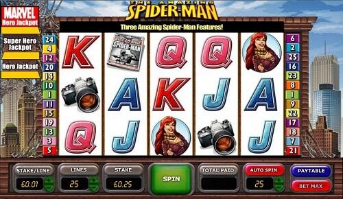 Amazing Spiderman Cryptologic Slot Review