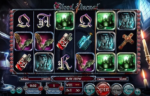 Blood Eternal Slot Reels