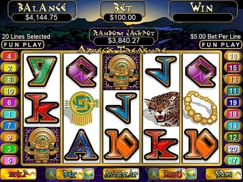 RTG Aztec's Treasure Slot Review