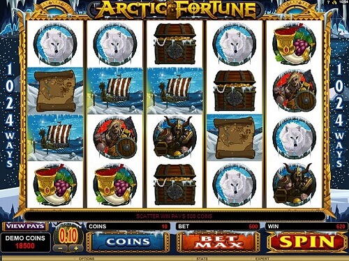 Arctic Fortune Slot Reels
