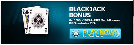 Blackjack Bonus Codes