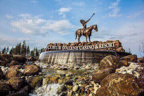 reopening of coeur d'alene casino