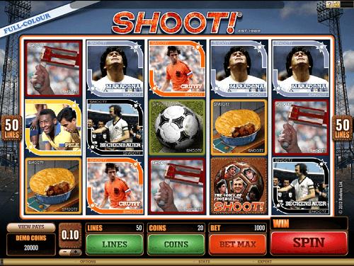 Shoot Slot Reels