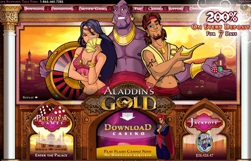 Aladdins Gold Bonuses