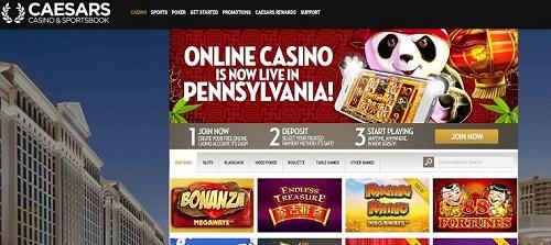 Caesars online casino pa
