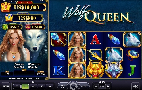 wolf queen ags reels slot