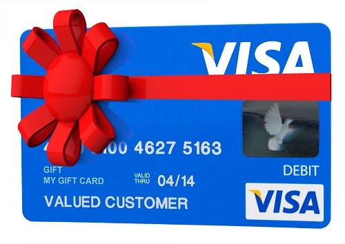 Visa Gift Card Prepaid