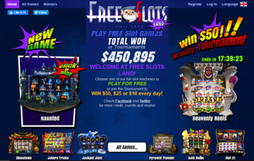 free slots land casino review