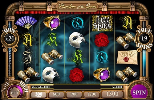 Slotland Phantom of the Opera Slot Review