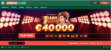 casino mate home page