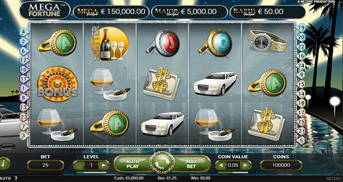 Mega Fortune Slot Machine