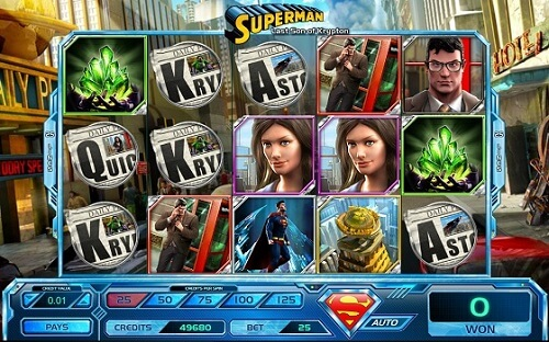 Superhero Slot Machine