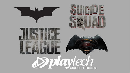 DC comic themed slots
