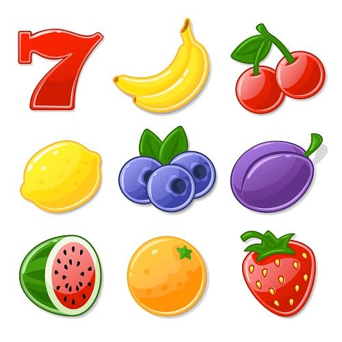 fruit machine symbols