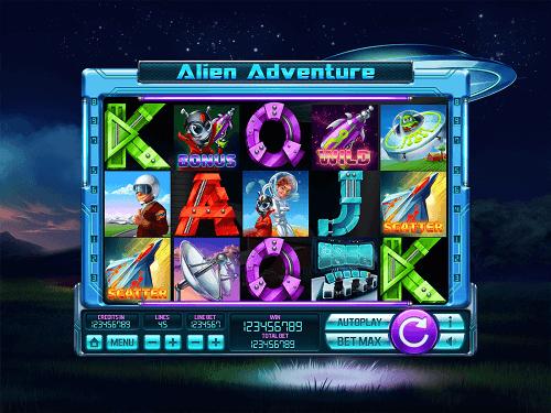 Alien Themed Slot Machines
