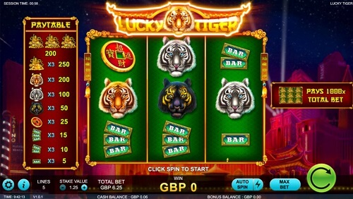 Lucky-Tiger-Slot-Machine