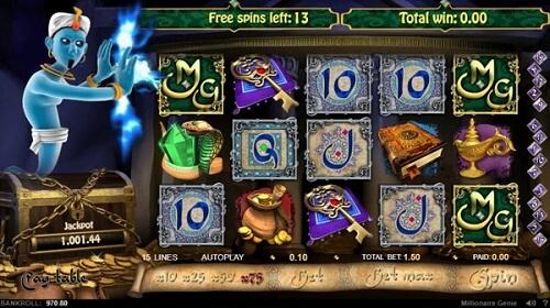 Millionaire Genie Slot Online