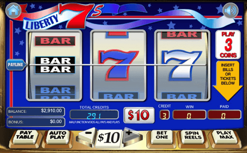 liberty 7 slot machines