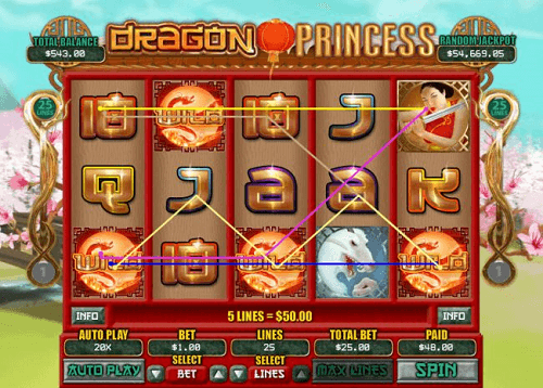 Dragon Princess Game Features