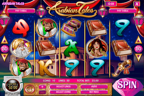 Arabian Themed Online Slots to play