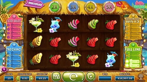 Spina Colada Slot gaming