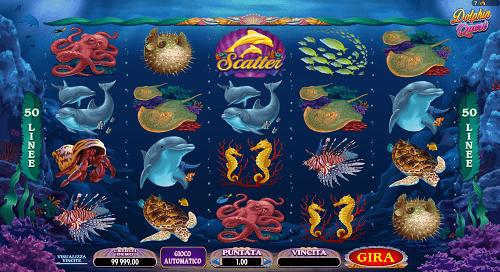Dolphin Quest Slot Machine
