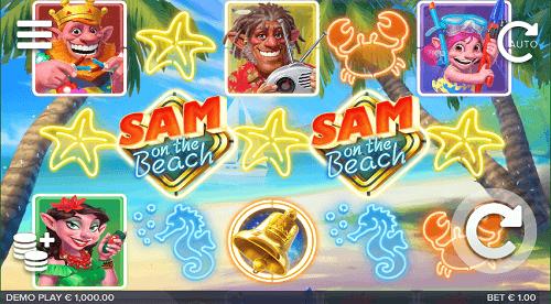 Sam on the Beach Slot RTP