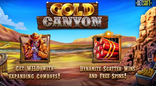 Gold Canyon Slot Betsoft