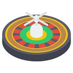 is online roulette random