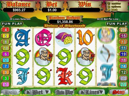 Top Casinos to Play Prince Of Sherwood Slot