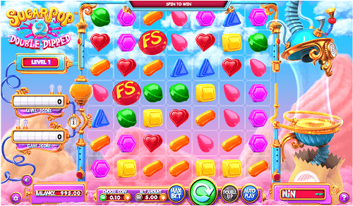 sugar pop 2 double dipped slot review