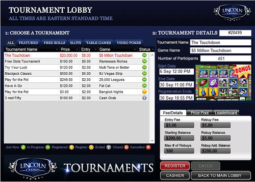 Free Slot Touraments