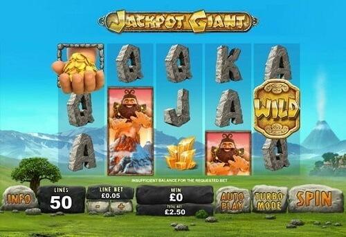 Jackpot Giant Slot Real Money