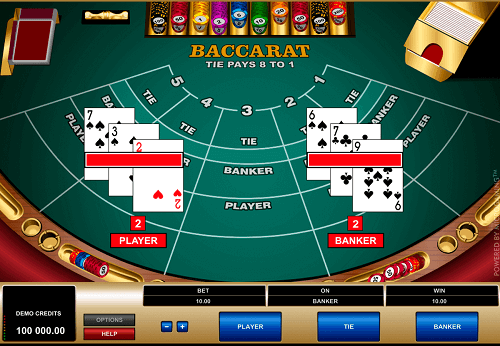 strategy to Baccarat