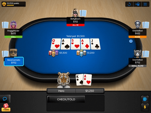 can i play play poker online with friends