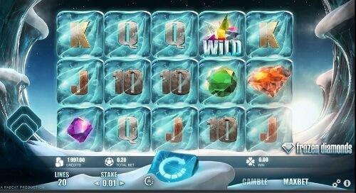 frozen diamonds slot review