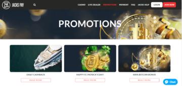 jacks pay casino bonuses