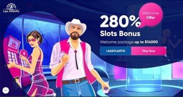 Las Atlantis Welcome Bonus