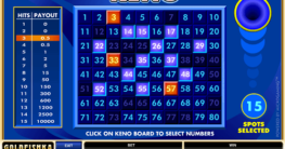 How Many Numbers Should I Pick in Keno?