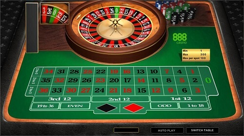 Bet Every Number in Roulette